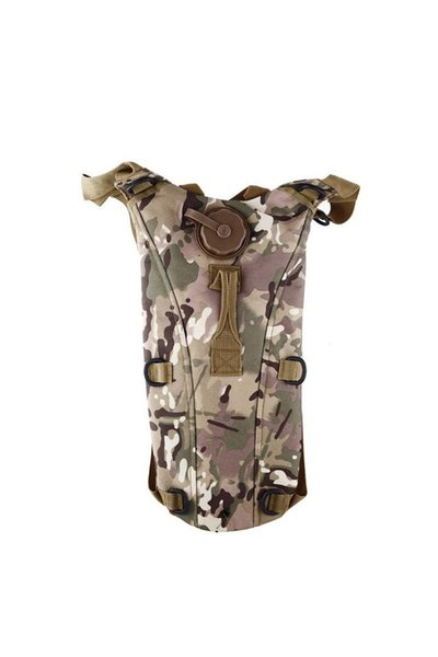 best selling 2.5L TPU Hydration System Bladder Water Bag Pouch Backpack Hiking Climbing-CP camo