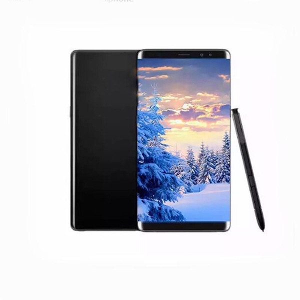 NOTE 8 goophone note8 android 6.3 smartphone 6.3 inch HD 64bit MTK6580 Quad core cell phones 1gb RAM 8gb ROM show fake 4g lte 64gb DHL