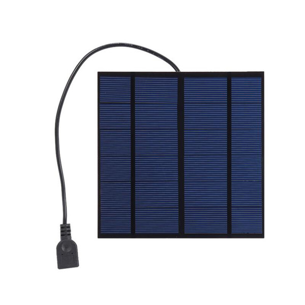 3W 6V output Solar Panel Battery Cells voltage Charger controller MAX 0.5A USB Output Devices Portable Smartphones
