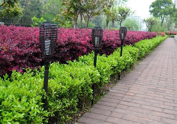 Luci Da Esterno Giardino Solari : Acquista luci da giardino impermeabili in plastica lampade da