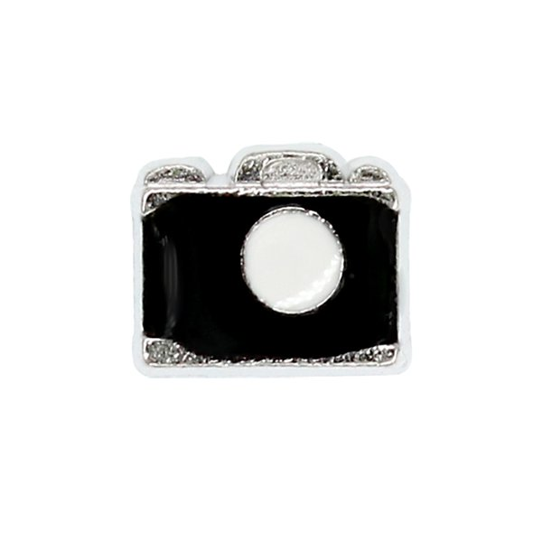 30pcs/lot free shipping camera good quality alloy DIY floating charms for glass living memory lockets