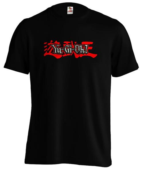 Yugioh Logo Yu Gi Oh Card Game Blue Eyes Silver Dragon T shirt Tee Funny free shipping Unisex Casual tshirt gift