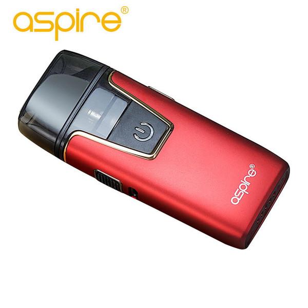 100% Original Aspire Nautilus AIO Kit electronic cigarette 12w power 2ml/4.5ml capacity of tank with built-in battery 1000mah