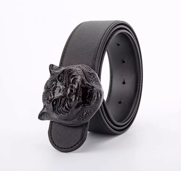 Black with black buckle