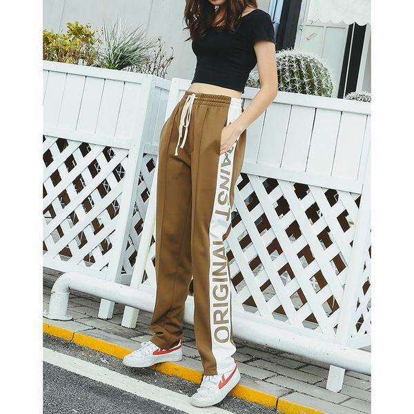 Großhandel 2018 Neue Herbst Mens Sportswear Hosen Seitenstreifen Taschen Jogginghose Männer Urban School Style Jogger Hosen Von Streetwearstore, $39.6