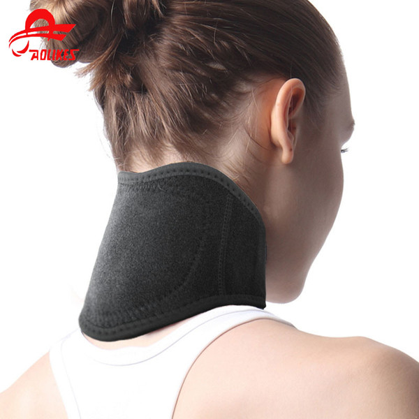 Cervical Neck Support Neoprene Neck Support Magnetic Therapy Belt Tourmaline Self Heating