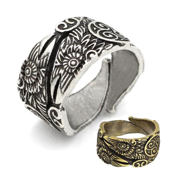 2019 Odin S Ravens Ring Huginn And Muninn Ring Totem Ring Viking Jewellery Viking Wedding Rings Men Pagan Jewelry From Sidandianzi 5 13