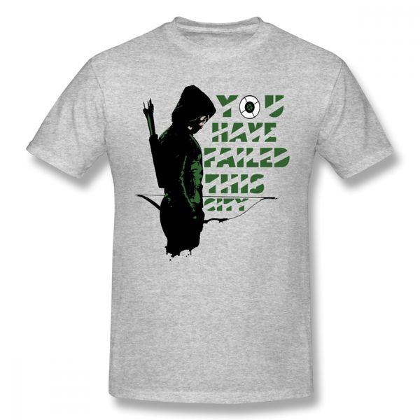 Green Arrow T Shirt Hommes Mélange À La Mode D'été Vous Avez Échoué Cette Ville T Shirt Unisexe T Shirt Hommes Cool Design Unique Pour Garçon