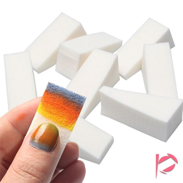 24pcs / lot bricolage dégradé ongles éponges ongles tampon fichiers changement de couleur gel équipement de vernis à ongles manucure ongles-art outils ensembles kits