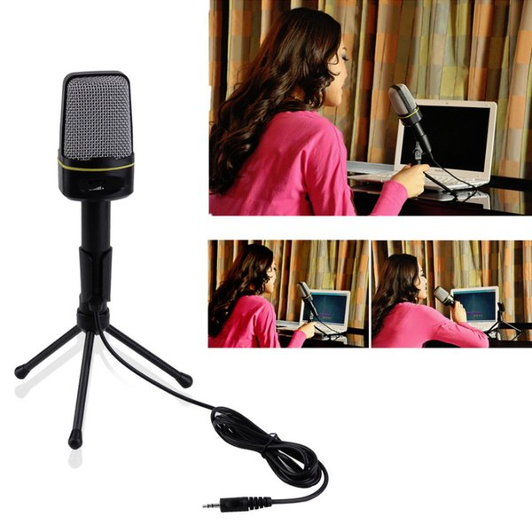 3,5 mm kabelgebundenes, kapazitives Plug & Play-Mikrofon SF-920 für Computer Wholeslae