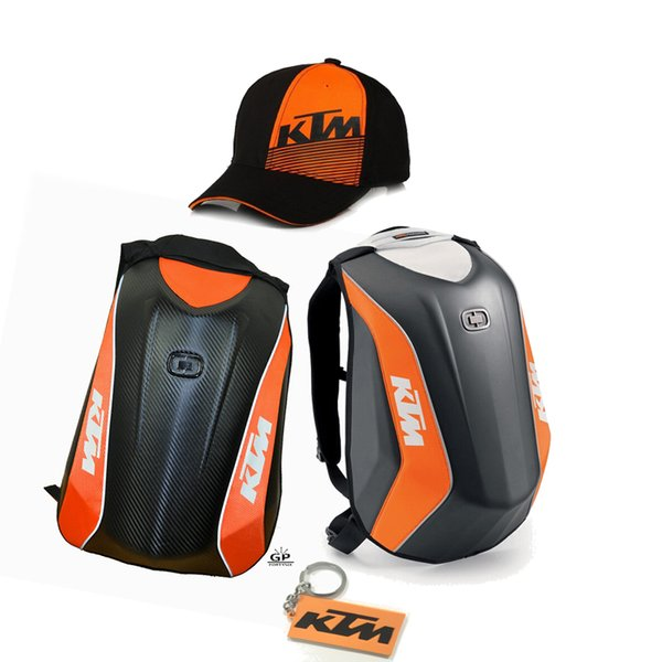 Motorcycle Bag For KTM Motocross Moto Bag Luggage Hard Shell Motorcycle Backpack Motogp Top Case Motocicleta Waterproof Double Shoulder Bags
