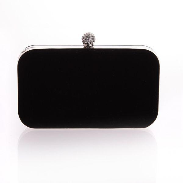 المرأة الجديدة الفاصل حقيبة السيدات أحمر أسود اللون حقائب السهرة حزب حقيبة براثن الزفاف حقائب جميلة جدا XST-B0059