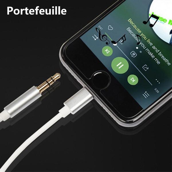 3,5-mm-Audiokabel AUX-Stereo-Kabeladapter 1 Meter für Lightn für iPhone 7 Plus 8 Plus X für Stereo-Lautsprecher