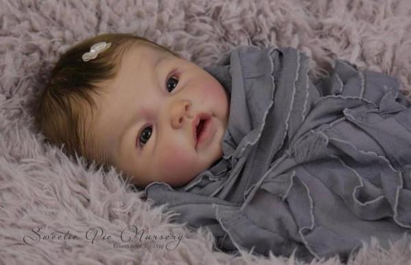 Doll Baby D142 20inch NPK Doll Bebe s Girl Lifelike Silicone Fashion Boy Newborn Reborn Babies