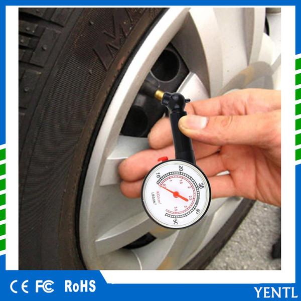 free shipping Car Vehicle Motorcycle Bicycle Dial Tire Gauge Meter Pressure Tyre Measure Bicycle Dial Gauge Meter Pressure Tyre Measure Tool