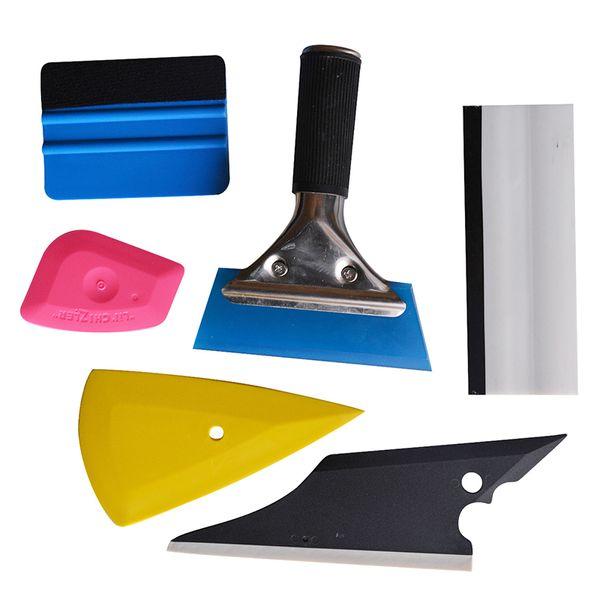 EHDIS Window Film Tint Tool Kit Vinilo Car Wrap Fibra de Carbono 3M Felt Squeegee Raspador de goma Car Cleaning Wraping Styling Tools