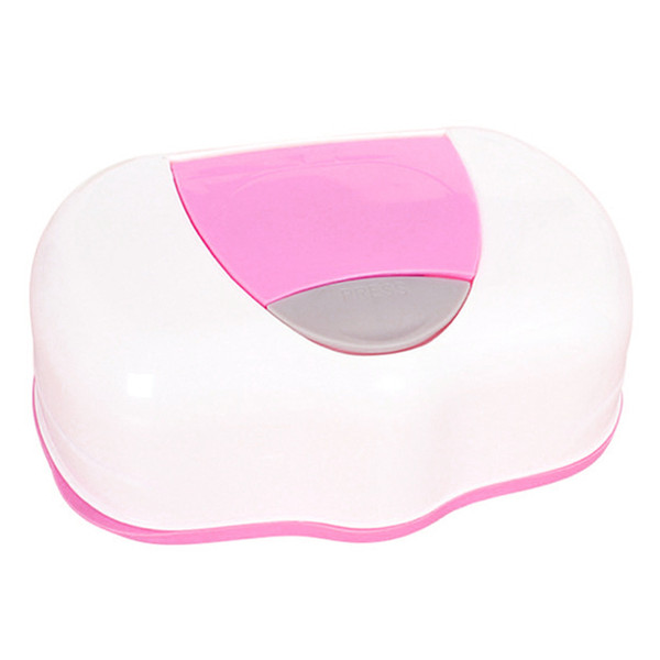 Dry Wet Tissue Paper Case Baby Wipes Napkin Storage Box Holder Container Plastic