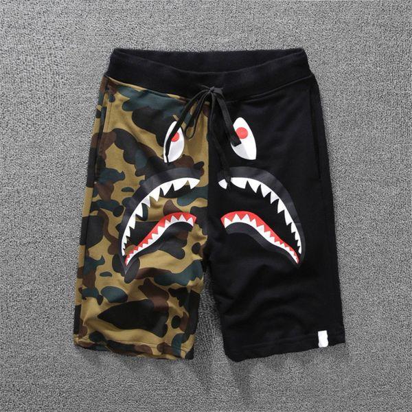 Casual Designer Shorts Summer Mens Shorts Skateboard Shorts Cotton Blend Size M-2XL Knee Length 3Color Closure Type Drawstring Mid Waist