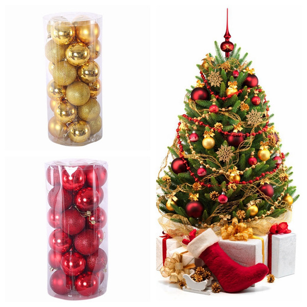 christmas balls 3cm 4cm 6cm 8cm xmas tree balls shatterproof christmas ornaments set decorative baubles pendants for holiday decorations