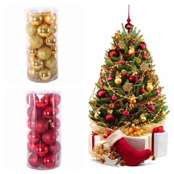 Christmas Tree Balls.Christmas Balls 3cm 4cm 6cm 8cm Xmas Tree Balls Shatterproof Christmas Ornaments Set Decorative Baubles Pendants For Holiday Decorations Buy Xmas