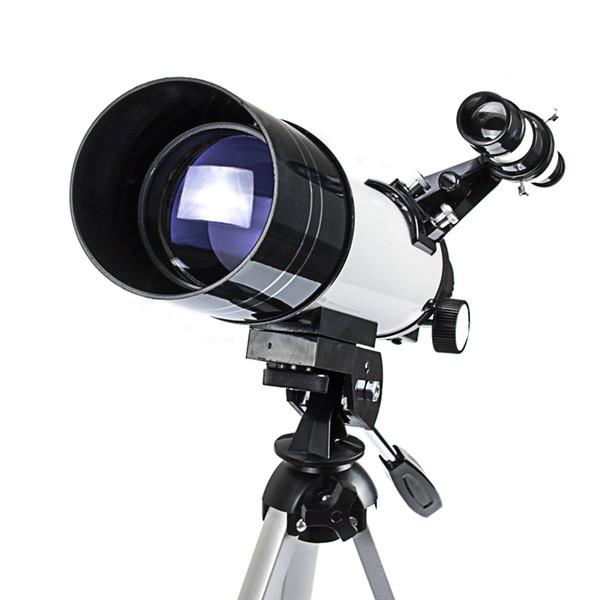 Télescope astronomique HD 40700 avec trépied Monocular Moon Observation d'oiseaux Match Filtre solaire Sun Film peut voir les taches solaires