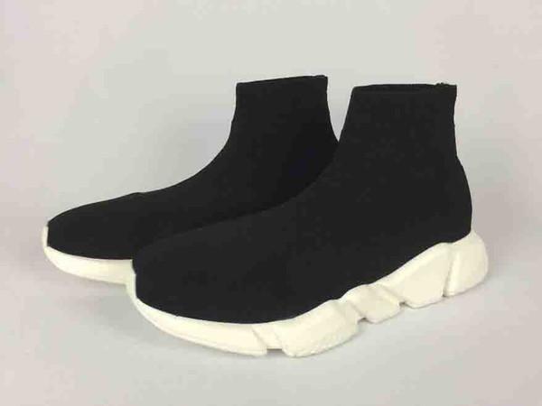 013e86fcb68a Compre Alta Calidad Zapatos De Diseñador Baratos Marca De Moda Calcetín  Botas Deportivas Mujer Nuevo Slip On Tela Elástica De Lujo Speed ...