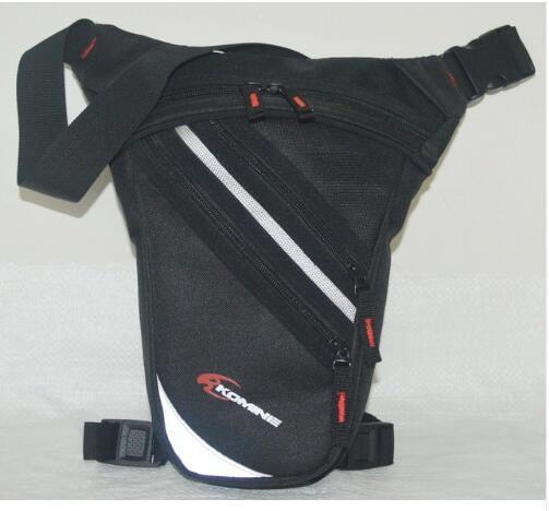 2018 novo komine motocicleta mensageiro equitação hip vagabundo cintura pacote gota perna cruz sobre o saco de bicicleta ao ar livre saco de ciclismo