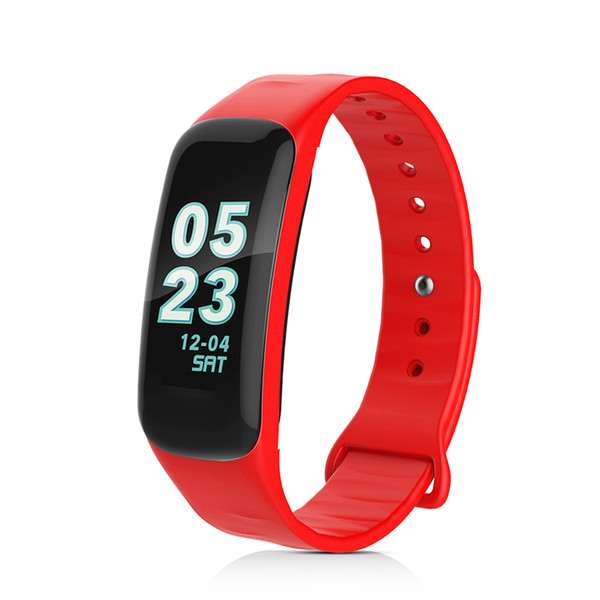Smart Band With Color Screen Heart Rate Monitor Blood Pressure Measure Bracelet Dynamic Calorie Wristband Fitness Tracker Smart Band