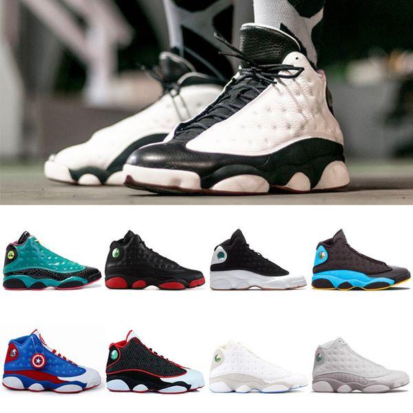 13 13s He Got Game men basketball shoes Phantom black cat Chicago bred Melo Class of 2003 Hyper Royal sports sneaker size 7-13