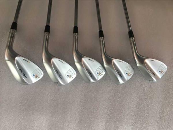 WOTUFLY Nuevo Golf Club Cuñas de golf Grabado Eagle con rifle Proyecto X Ejes de acero Loft 52-12 54-10 56-10 58-07 60-04 1PC