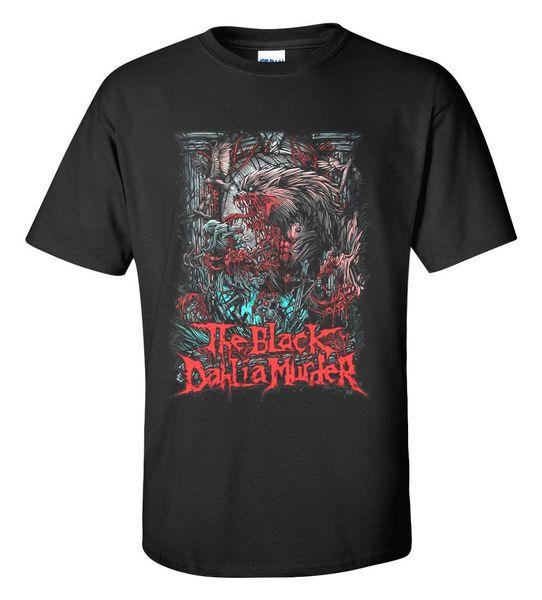 The Black Dahlia Murder Hard Rock Heavy Metal Punk Band For Men's Unisex 100% cotton casual printing short sleeve men T shirt o-neck