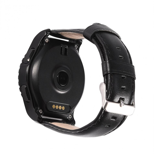 KW28 Smart Sport Bluetooth Watch Supporto SIM Card per cardiofrequenzimetro LCD Touch Screen LCD universale per telefoni IOS / Android