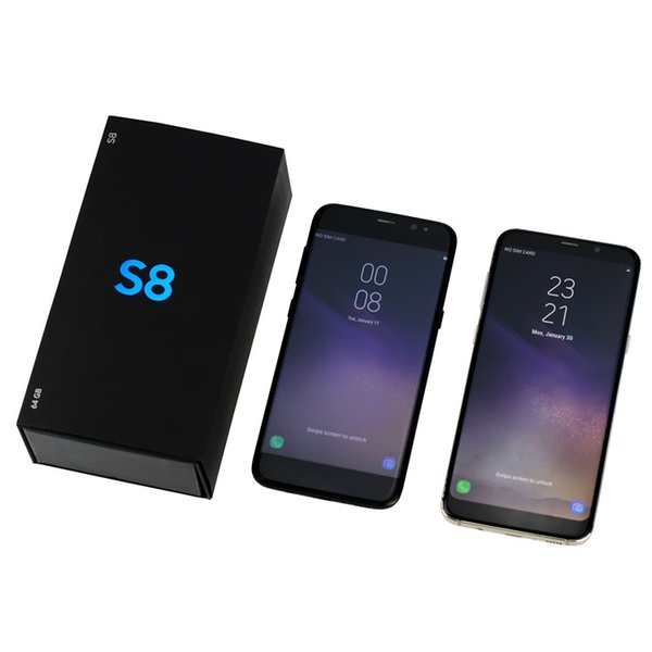 HOT NEW Goophone S8 5.5 Inch MTK6580 RAM 1GB ROM 8GB Show octa core 64GB 4G LTE Android phone with Metal Frame GPS WIFI free ship