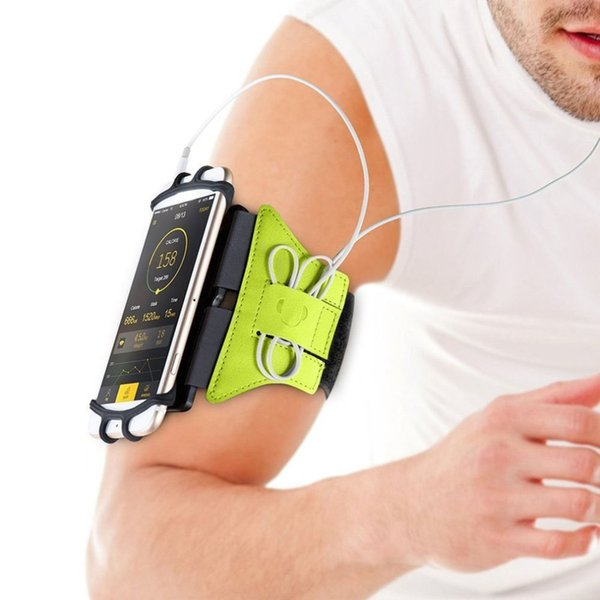 Cell Phone Running Armband Wristband 180 degree Rotatable Running Ba Wrist Strap Jogging Cycling Gym Arm Band for iPhone