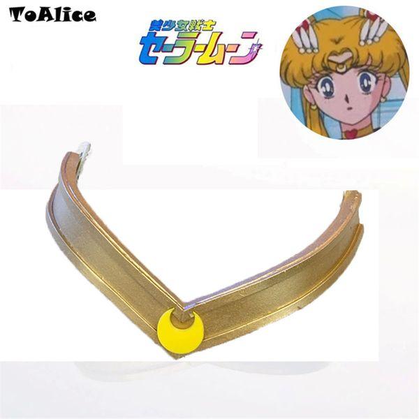 Anime Sailor Moon Tiara Headwear Headband Tsukino Usagi Cosplay Prop Accessory 25th Anniversary Moonlight Memory