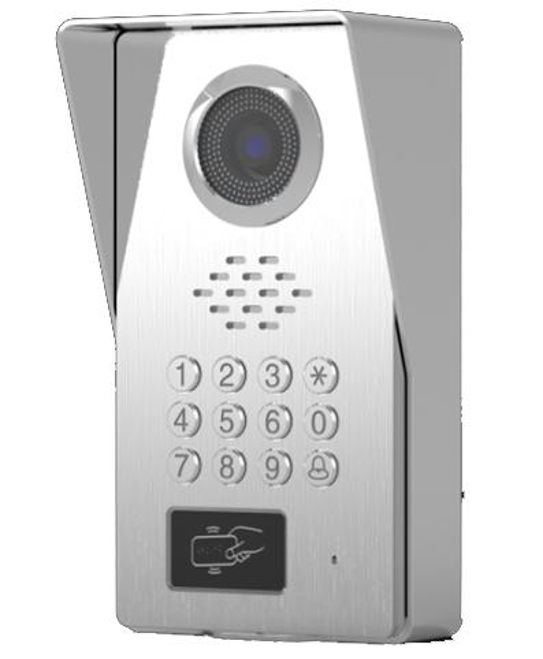 SMTVDP TFT LCD Renkli Görüntülü Kapı Telefonu Zil IR Interkom Ev Güvenlik Video Sistemi FRID Kamera, Renkli HD Gece Görüş Kamera