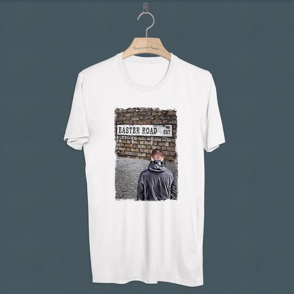 Camiseta Casuals de futebol Hibernian Awaysdays 80s Millie Hibs Hibees Hooligan