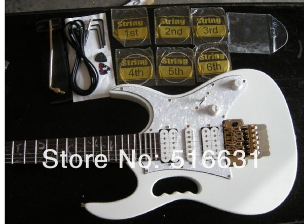 best selling Free shipping IBZ white JEM 7V Steve Vai pickup Electric Guitar