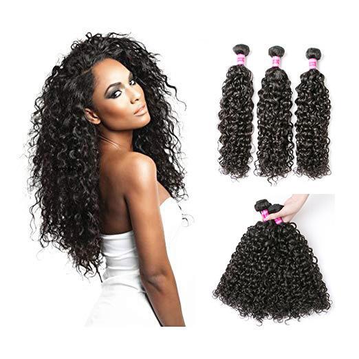 9A Bundles de vague d'eau brésilienne Perstar Bundles de tissage de cheveux humains Extensions de cheveux de vague d'eau naturelle Nature Couleur peut être teint