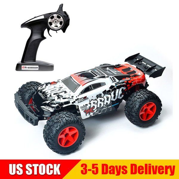SUBOTECH 1:12 4WD RC Car High Speed 35KMH Off-Road High Speed 2.4G Desert Buggy Remote Control Car BG1518 WHITE US STOCK