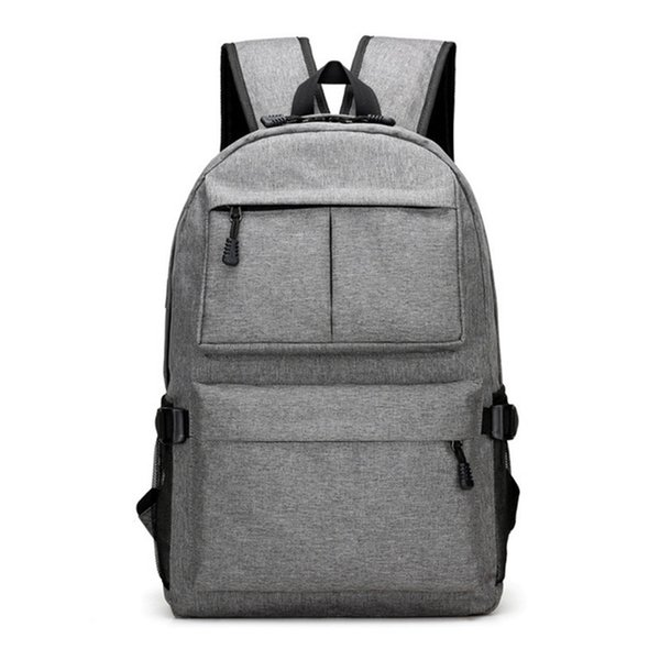 Professional College School Casual Daypack Laptop Backpack Business Work Computer Rucksack with USB Charging Port for Men Womens Boys Girls
