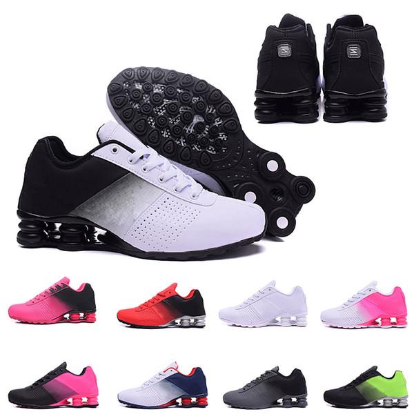 Yeni Shox 809 Erkekler Hava Koşu Ayakkabıları Teslim Bırak Nakliye Toptan ünlü TESLIF OZ NZ Erkek Atletik Sneakers Spor Koşu Ayakkabıları 40-46