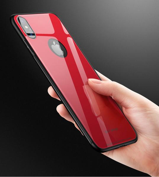 Baseus Custodia protettiva Cover in tinta unita per iPhone 7 Plus Nero