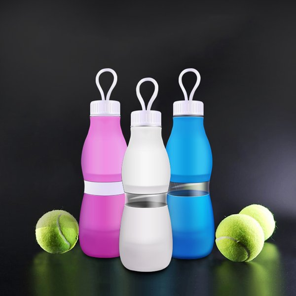 Portable 700ml Collapsible Foldable Silicone Sport Drink Water Bottle Hiking Camping Drinkware Kitchen, Dining & Bar Drinkware