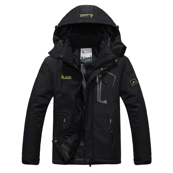 2018 Large Size Top Quality Warm Outwear Men Parkas Sport Winter Jacket Thicken Hood Outdoor Men Jacket Size L-4XL 9 Colors