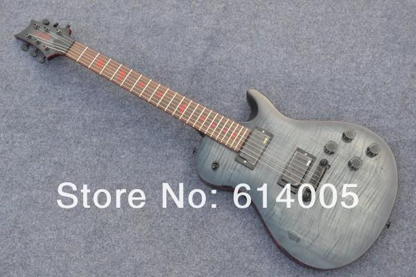 Musical instruments Newest black grey signature Electric Guitar Very Beauty Guitar Free Shipping