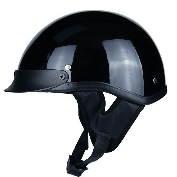 2018 Abs Engineering Plastic Knight Vintage Half Face Motorcycle Helmet Casco Casque Moto Vintage Helmet 54 60cm Cheap Helmets Online Cheap Modular