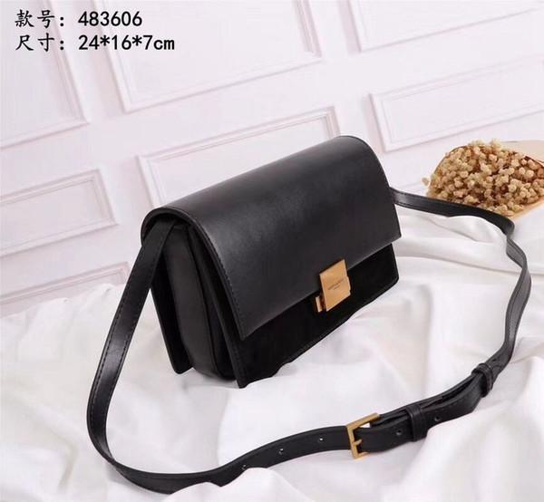 46bcbb874c2 F25 Ladies High End Designer Totes Bags Women Shoulder Bag Black And Res  Handbag Original Quality483606 Messenger Bags Laptop Bags From Shuangnian6,  ...