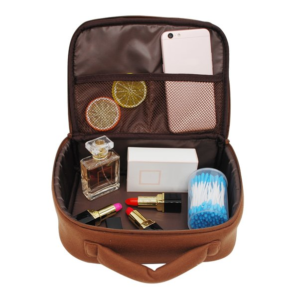 Cute Bear Cosmetic Bag Lady Travel Make Up Case Cartoon Girl's Handbag Portable Organizer Case Box Accessories Supplies Product