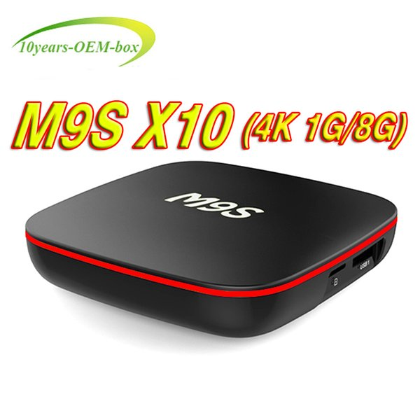Factory Sale M9S X10 New MXQ Pro 4K Smart Android 7.1 TV Box Rockchip RK3229 Quad Core Google Set Top Box Media Player